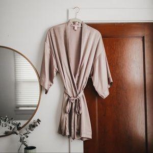 Victoria's Secret Satin Robe